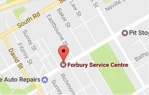 Welcome to Forbury Service Centre